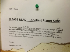 Loneliest Planet Sucks