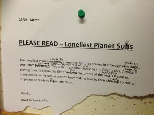 Loneliest Planet Sucks